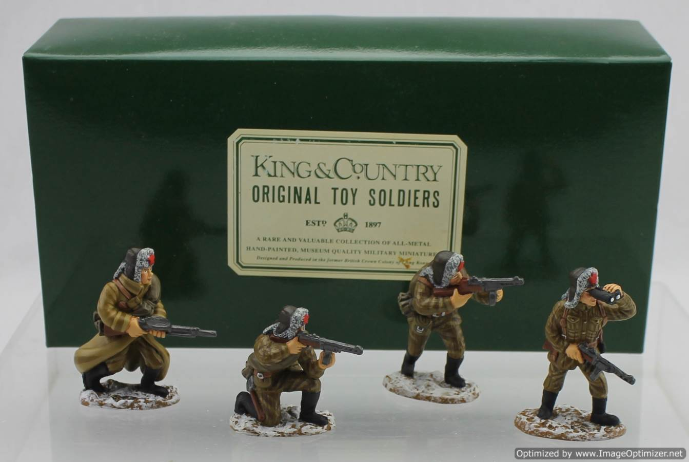 King /& country-soldier of the ws095-series wermarcht grosdeutschland 2007